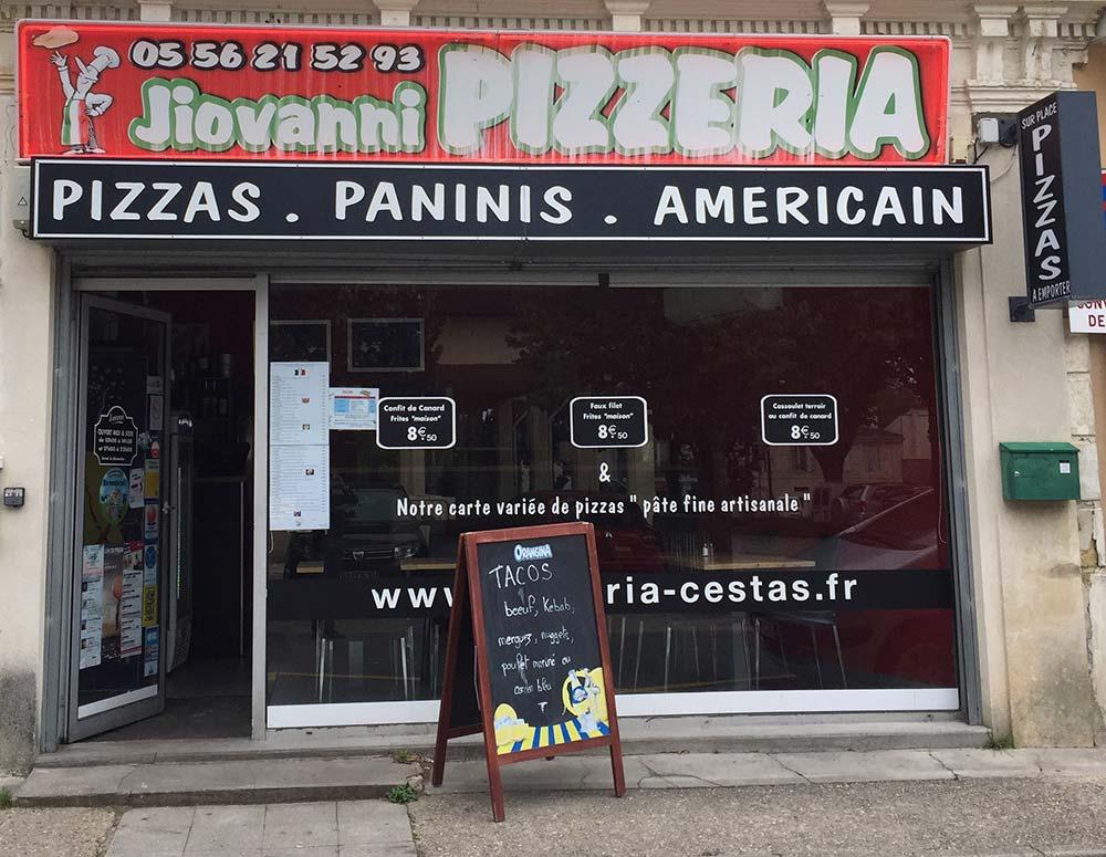paninis à Cestas Bourg | Pizzeria Jiovanni